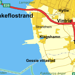 Karta Skane Eniro.Se Lan Malmo Klippdesign
