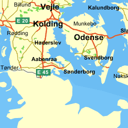 Ord W I Dansk Odense Postnummer Kort