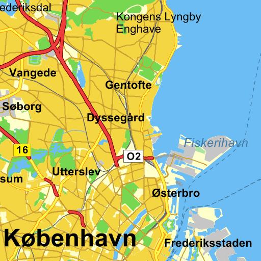 krak kort københavn og omegn 2015