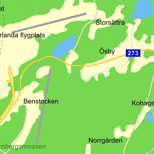 Karta Bromma Arlanda.Stockholm Arlanda Karta Pa Eniro