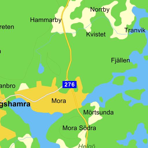 bergshamra norrtälje karta