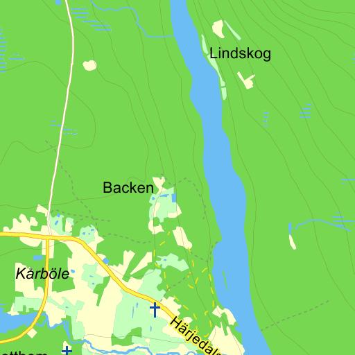 kårböle karta Kårböle   karta på Eniro