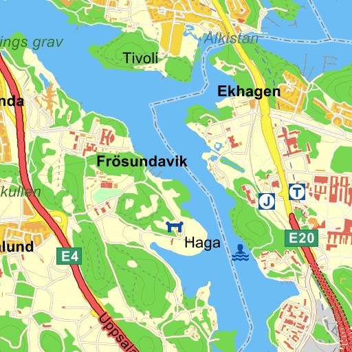 Karta Sodra Sverige Eniro.Solna Trafikplats Haga Sodra Karta Pa Eniro