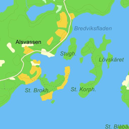 Lilla Korpholmen Yxlan Norrtalje Karta Pa Eniro
