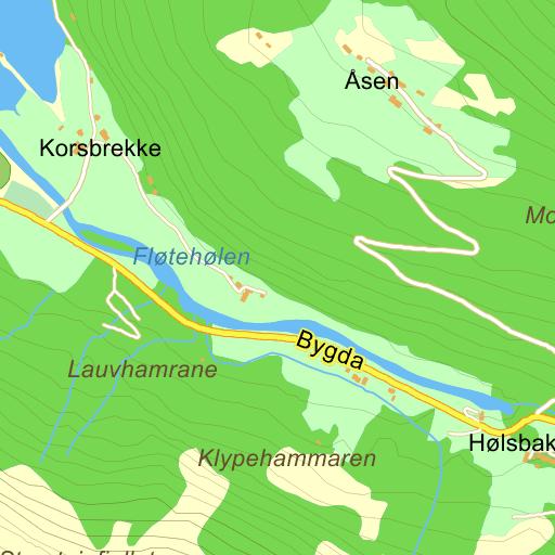 hellesylt kart Hellesylt Ferjekai på Gule Siders kart