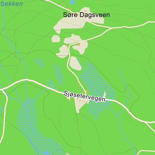 birkebeinerløypa kart Birkebeinerløypa på Gule Siders kart