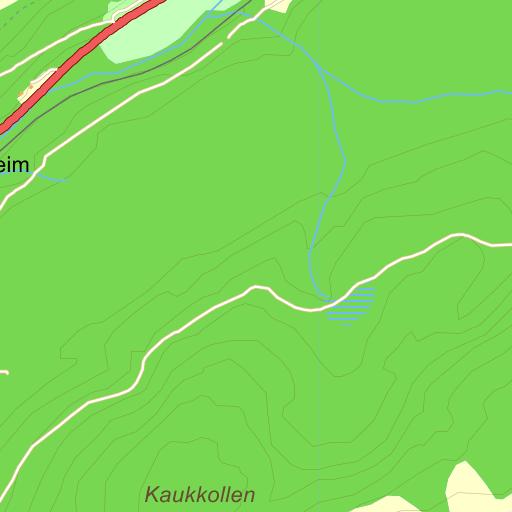 vuddudalen kart Vuddudalen på Gule Siders kart