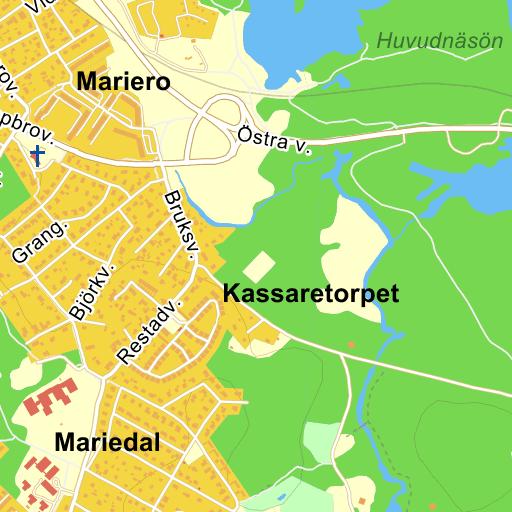 Karta Vanersborg.Hornsvagen Vanersborg Karta Pa Eniro