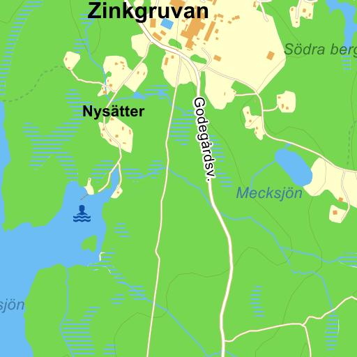 Karta Zinkgruvan.Zinkgruvan Kvarnvagen Karta Pa Eniro