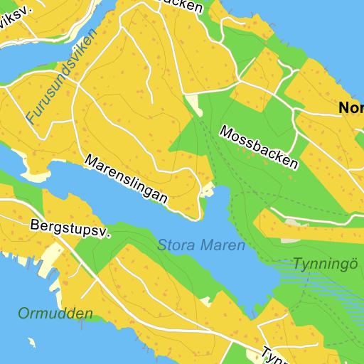 Karta Sodra Sverige Eniro.Vaxholm Karta