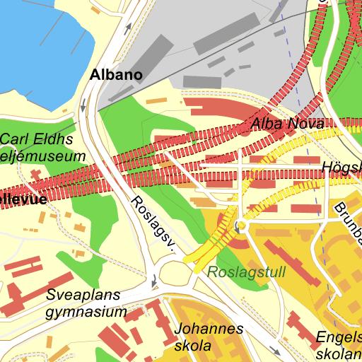 Karta Stockholms Universitet.Stockholm Sveaplan Karta Pa Eniro