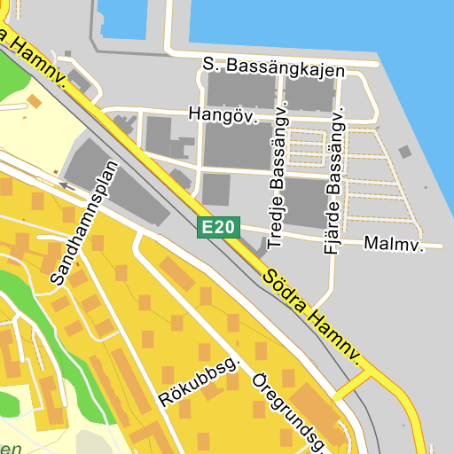 Karta Stockholms Universitet.Vartahamnen Karta Pa Eniro