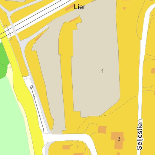ce9c6c295 Lier Stasjon på Gule Siders kart